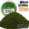 Elektrostatisches Gras 12mm - OlivGrün - 280ml