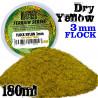 Static Grass Flock 3 mm - Dry Yellow - 180 ml