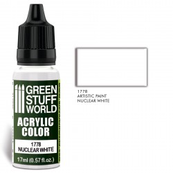 Acrylic Color NUCLEAR WHITE