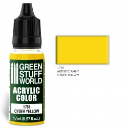 Acrylic Color CYBER YELLOW