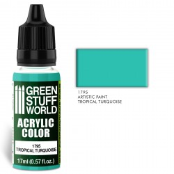 Acrylic Color TROPICAL TURQUOISE