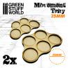 Bandejas de Movimiento DM 5 x 25mm
