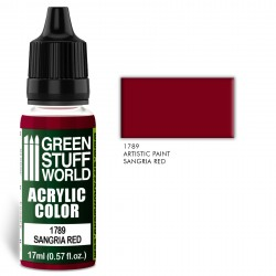 Acrylic Color SANGRIA RED