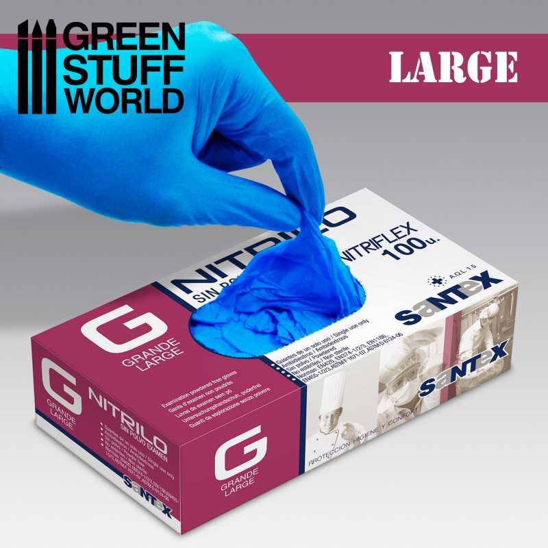 Nitrile Gloves - Large