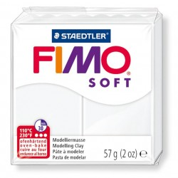 Fimo Soft 57gr - Blanc
