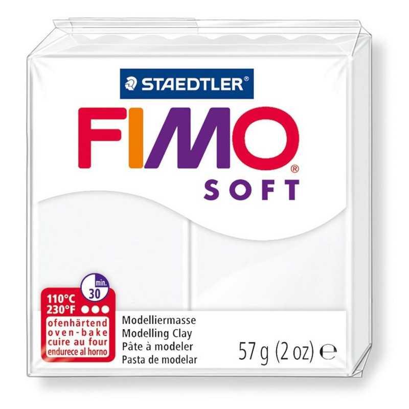 Fimo Soft 57gr - White