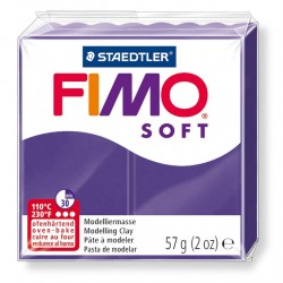 Fimo Soft 57gr - Prune