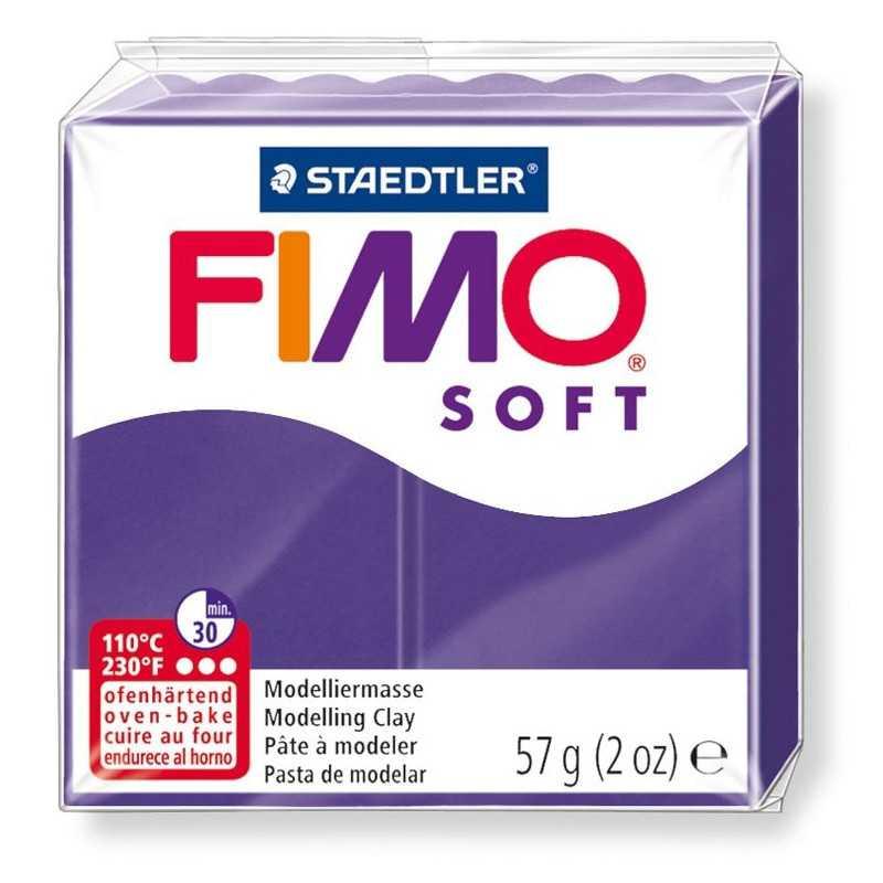 Fimo Soft 57gr - Purpur