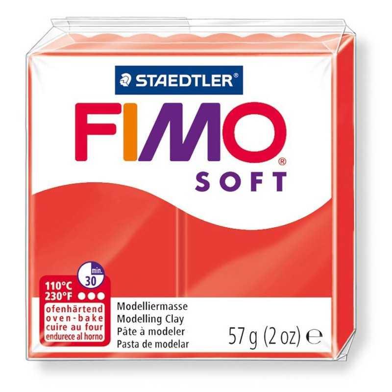 Fimo Soft 57gr - Indischrot