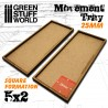MDF Movement Trays 20mm 5x2