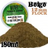 Static Grass Flock 12mm - Forest Green - 180 ml