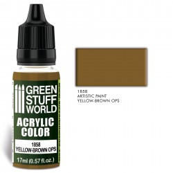 Acrylic Color YELLOW-BROWN OPS