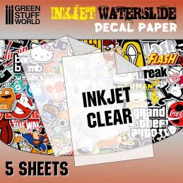 Wasserschiebe Abziehbilder - Inkjet Transparent