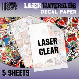 Decalcomanies a l'eau - Laser Transparent