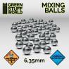 Bolas Acero Inoxidable mezcladoras pintura 6.35mm