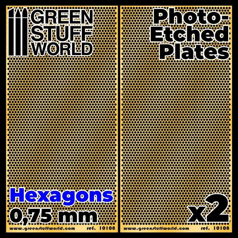 Placas Fotograbados - Circulos Grandes