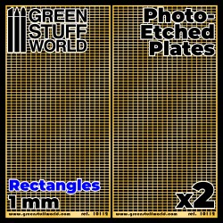 Photo-etched Plates - Medium Rectangles