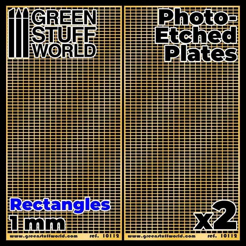 Placas Fotograbados - Rectangulos Medianos