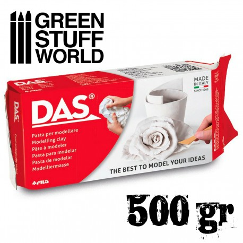 Modelliermasse DAS - 500gr.