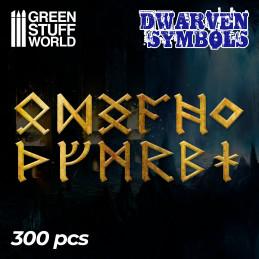 Zwergen Runen und Symbole