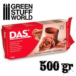 Modelling clay DAS Terracota - 500gr.