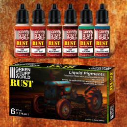 Liquid Pigments Set - Rust