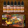 Set Pigmentos Liquidos - polvo