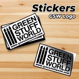 GSW Heart Sticker