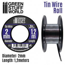 Flexibler Zinndraht 2mm