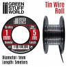 Flexible tin wire roll 1mm