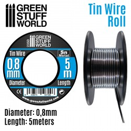 Flexibler Zinndraht 0.8mm