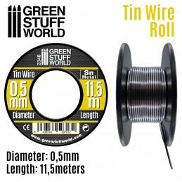 Rollo de estaño flexible 0.5mm