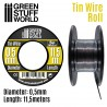 Flexible tin wire roll 0.5mm