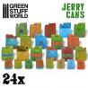24x Jerrycans en Résine