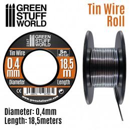 Flexibler Zinndraht 0.4mm