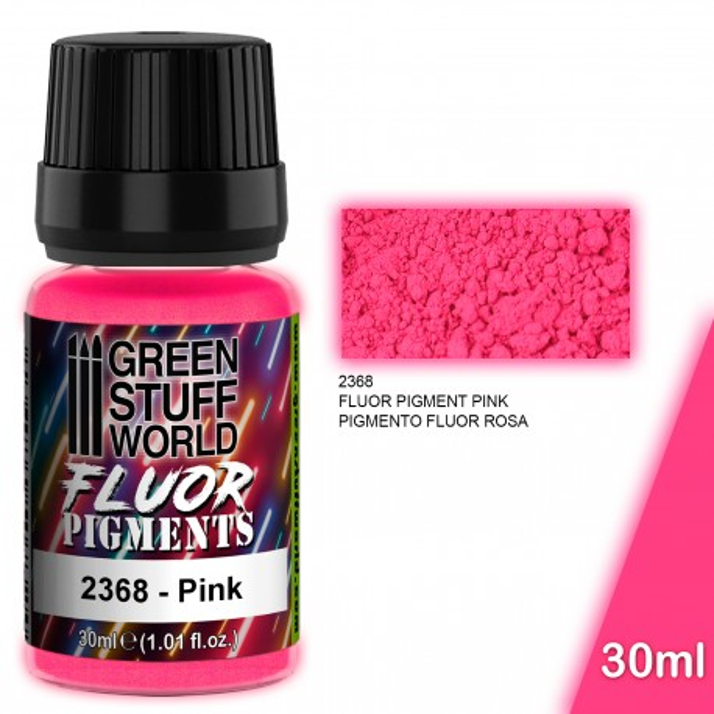 Pigmentos FLUOR ROSA