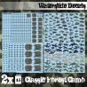 Decalcomanies a l'eau - Camouflage Forêt Classique