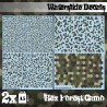 Waterslide Decals - Hex Forest Camo