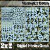 Waterslide Decals - Digital Forest Camo