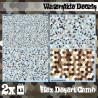 Wasserschiebe Abziehbilder - Klassische Wüstentarnung