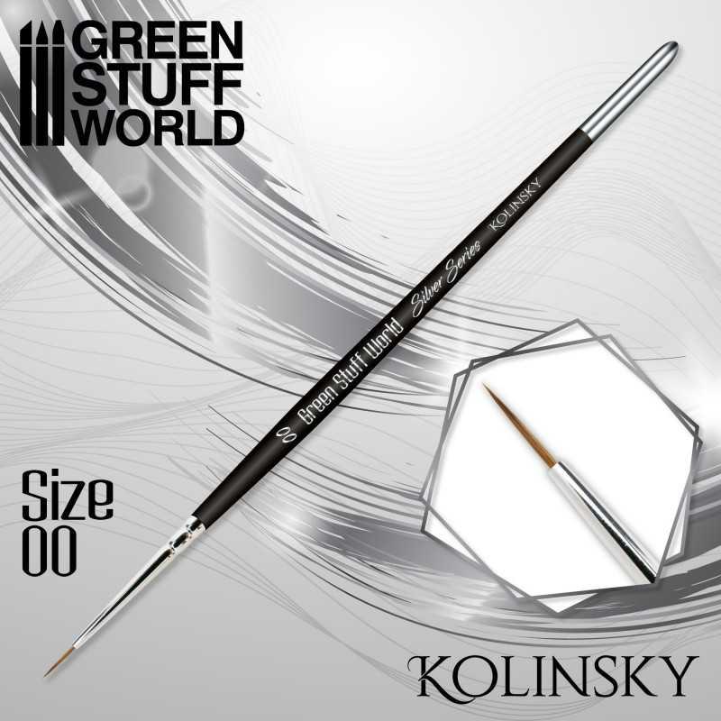 SILVER SERIES Kolinsky Brush - Size 00