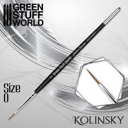 SILVER SERIES Kolinsky Brush - Size 0