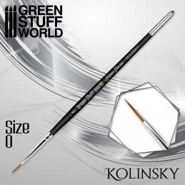 SILVER SERIES Kolinsky Brush - Size 0