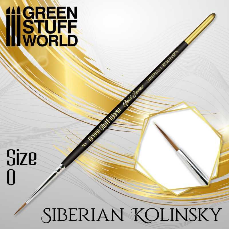 GOLD SERIES Pinceau Kolinsky Sibérien - 00