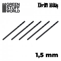 Drill bit in 1,5 mm
