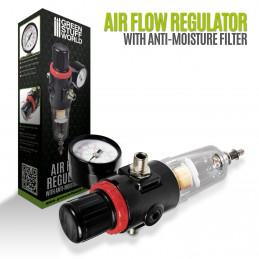 Airbrush-Luftstromregler
