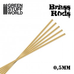 Pinning Brass Rods 0.5mm
