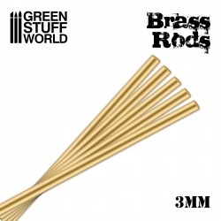 Pinning Brass Rods 3mm