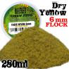 Elektrostatisches Gras 6 mm - Trokenes Gelb - 280ml