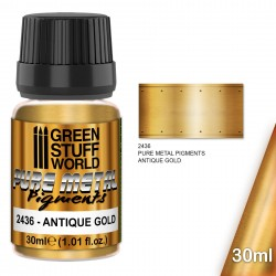 Pure Metal Pigments ANTIQUE GOLD